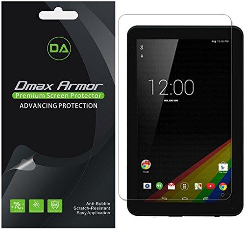 "Dmax Armor [3-Pack] for Polaroid 9"" Tablet (P909) Screen Protector, Anti-Glare & Anti-Fingerprint (Matte) Shield"