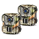 Best Game Cameras - 2 Pack Mini Trail Camera 1080P HD Wildlife Review