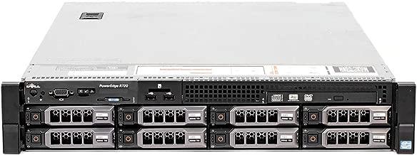 Dell PowerEdge R720 Server | 2X 2.00GHz 12 Cores | 32GB | H710 | 2X 300GB SAS (Renewed)