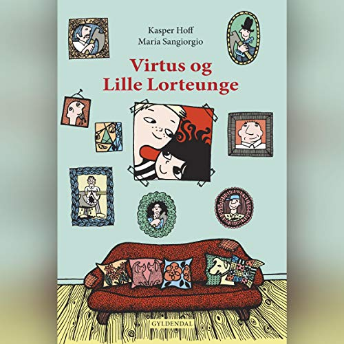 Virtus og Lille Lorteunge audiobook cover art