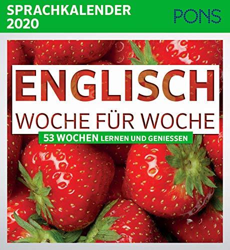 PONS Sprachkalender 2020 Englisch Woche für Woche: 53 Wochen lernen und genießen