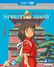 Spirited Away ( Sen to Chihiro no Kamikakushi ) (Blu-Ray & DVD Combo) [ NON-USA FORMAT, Blu-Ray, Reg.B Import - United Kingdom ]