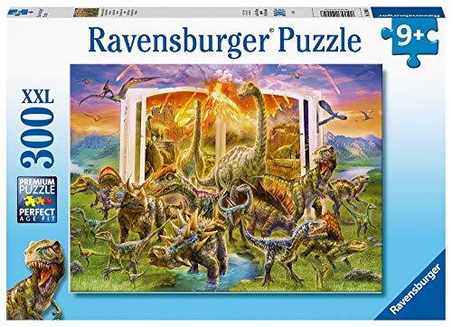 Ravensburger Puzzle da 300 pezzi con dinosauri extra large, per bambini dai 9 anni in su, 12905