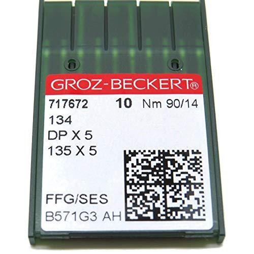 evernice 20 Groz-Beckert B-27 DCx27 DCx1 Overlock-N/ähmaschinennadeln 10//70