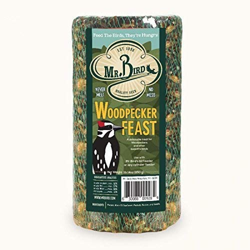 Price comparison product image Mr. Bird Woodpecker Feast Small Cylinder 1 lb. 14 oz.