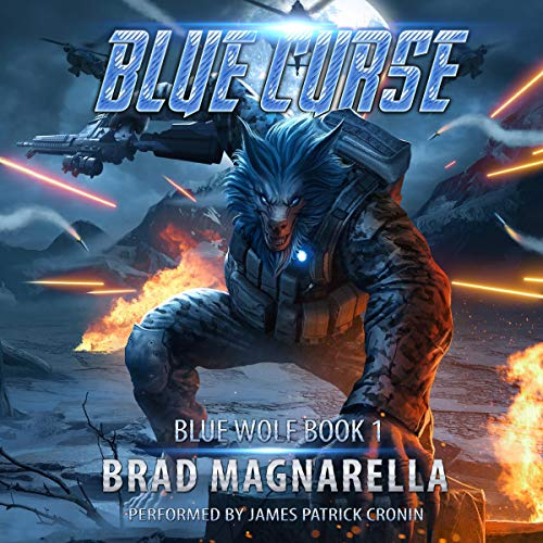 Blue Curse audiobook cover art