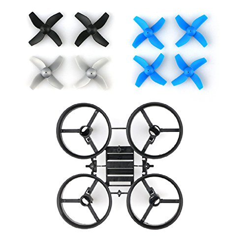 Crazepony Tiny Whoop Quadcopter Frame Blade Inductrix DIY FPV with 8pcs Propellers