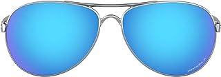 Oakley Women's Oo4079 Feedback Metal Polarized Aviator Sunglasses