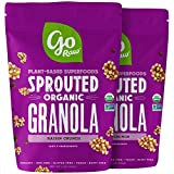 Go Raw Gluten Free Granola, Raisin Crunch | Organic | Sprouted | Superfood (2 Bags)