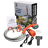 LUOOV Portable Camping Shower,Compact Handheld &...