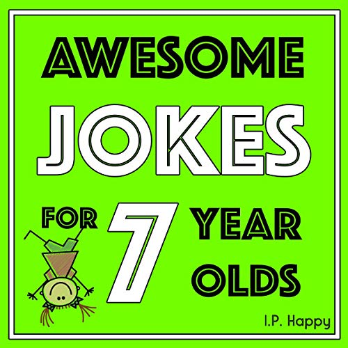 Awesome Jokes for 7 Year Olds: Silly Jokes for Kids Aged 7 audiobook cover art