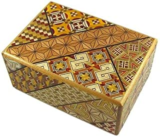 4 Sun 21 Steps - Japanese Puzzle Box