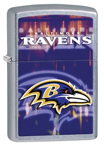 Personalized Zippo Lighter Baltimore Ravens - Free Laser Engraving