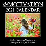 2021 Wall Calendar - Demotivation Calendar, 12 x...