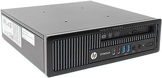 小型高性能! Windows 10 Pro 64bit HP EliteDesk 800 G1 USDT(ウルトラスモールデスクトップ)手のひらサイズパソコン 第4世代Core i5-4590S 3.0GHz、メモリ:8GB、HDD:500G...