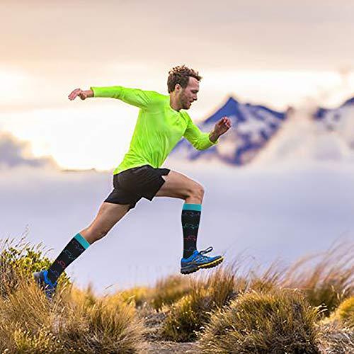 Product Image 4: HLTPRO Compression Socks for Women & Men Circulation – 4 Pairs for Nurse, Medical, Flight, Running