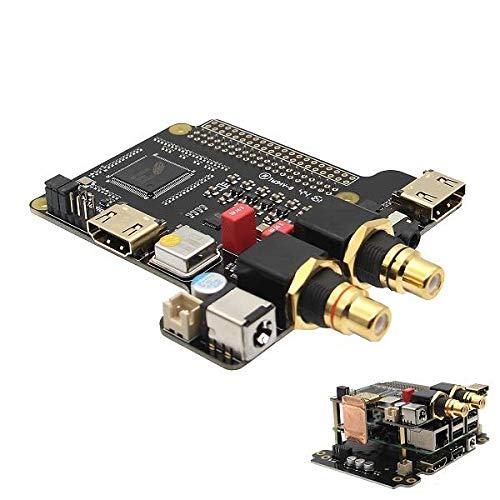 weichuang Elektronisches Zubehör Elektronische Komponenten & Zubehör Erweiterungsplatine HIFI Audio Mini PC für RPi 3 Modell B / 2B / B+ Elektronisches Zubehör