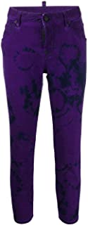 DSQUARED2 Luxury Fashion Womens S72LB0234S30342971 Purple Pants | Fall Winter 19