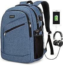 Laptop Backpack Business bag for Men Women Waterproof School Travel Daypack (Blue1)