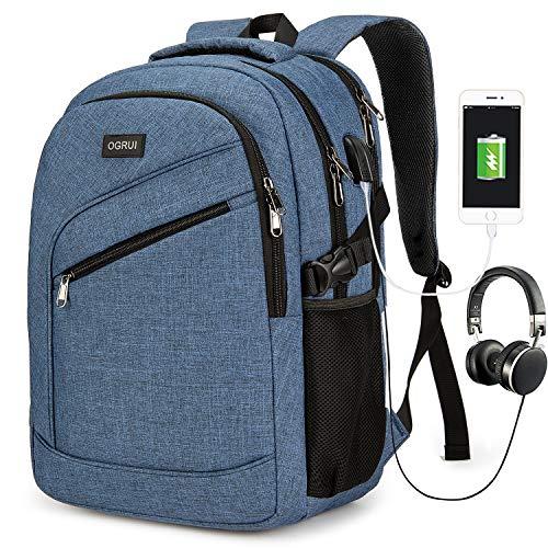 Mochila para ordenador portátil  bolsa para para hombre y mujer  impermeable