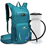 N NEVO RHINO 10L Insulated Hydration Backpack Pack with 2/3L Water Bladder, Camelback Water Backpack for Hiking/ Running/Cycling/Camping/Climbing