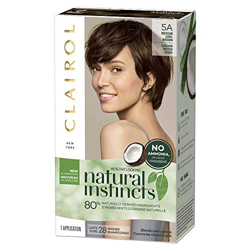 Clairol Natural Instincts Haircolor, Clove Medium Cool Brown 24 by Clairol