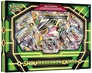 Pokémon TCG: Shiny Rayquaza-EX Box Card Game