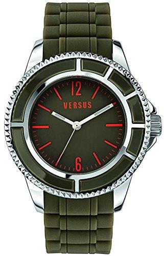 VERSUS-VERSACHE SGM100014 - Orologio da polso, caucciú, colore: verde