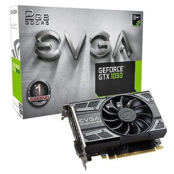 EVGA GeForce GTX 1050 Gaming 2GB GDDR5 DX12 OSD Support  PXOC  Graphics Card 02G-P4-6150-KR