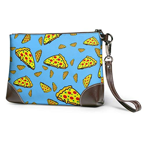 GLGFashion Sac à main en cuir pour femme Italian Pizza, Tomatoes Fashion Pizza Style Portable Travel Toiletry Bag Makeup Organizer Cosmetic Bag Pouch For Women Girl