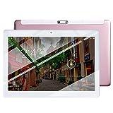 tablet PC Pantalla HD IPS de 10,1 Pulgadas PC Android Cámaras HD Delanteras y traseras Altavoces estéreo Soporte Bluetooth WiFi PC ultradelgada