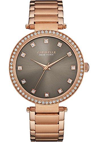 Caravelle Ny Ladies Crystal Dress 44L211 - Orologio da Polso Donna