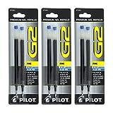 Pilot G2, Dr. Grip Gel/Ltd, ExecuGel G6, Q7 Rollerball Gel Ink Pen Refills Blue...