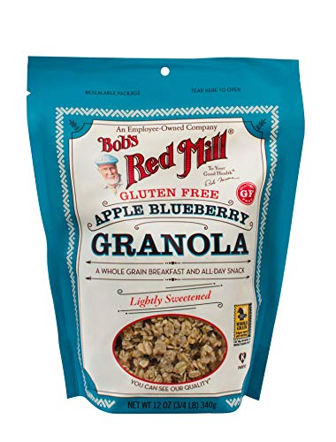Bob's Red Mill Gluten Free Apple Blueberry Granola, 4 Count