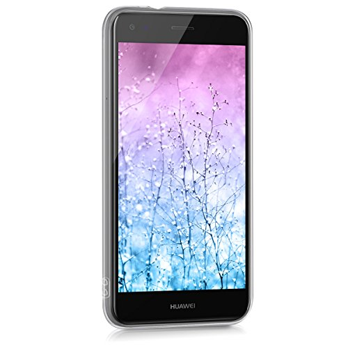 kwmobile Huawei Y6 Pro (2017) / Enjoy 7 Hülle - Handyhülle für Huawei Y6 Pro (2017) / Enjoy 7 - Handy Case in Indische Sonne Design Blau Pink Transparent - 2