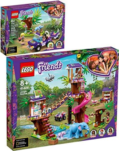 Lego® Friends 2er Set 41421 41424 Rettung des Elefantenbabys + Tierrettungsstation