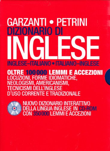 DIZ.INGL.PETRINI +CD NE