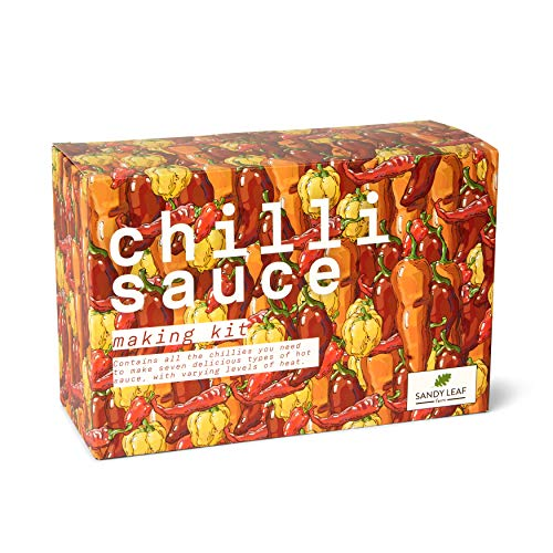Chilli Sauce Making Kit - Make Your own Hot Sauce - Includes Chipotle,...