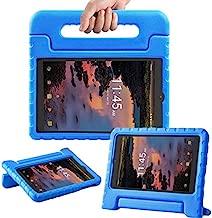 TIRIN Case for Alcatel Joy Tab 8 2019/Alcatel 3T/A30 8'' Tablet - Lightweight Shockproof Convertible Handle Stand Kids Case for Alcatel Joy Tab 2019/Alcatel 3T 2018/A30 2017 8-inch Tablet, Blue
