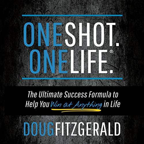 OneShot. OneLife. audiobook cover art