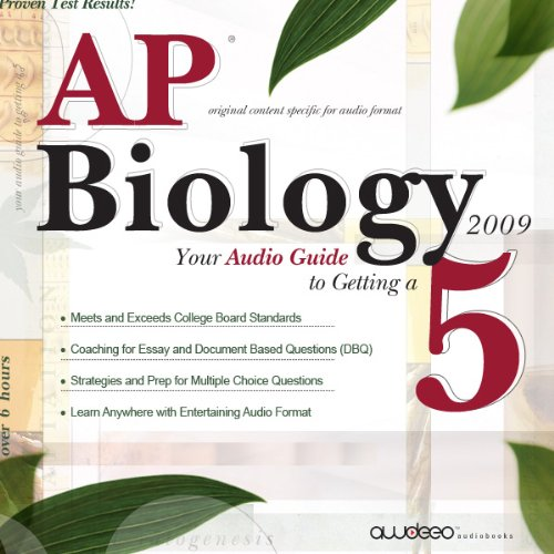 AP Biology 2009 audiobook cover art