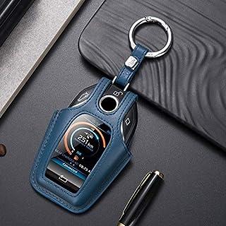 حافظة مفاتيح للسيارة - غطاء خلفي من الجلد الأصلي لهاتف 5 7 سلسلة G11 G12 G30 G31 G32 i8 I12 I15 G01 X3 G02 G05 X5 G07 (مجم...