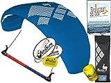 HQ HQ4 Fluxx 2.2M Trainer Kite TR + Kiteboarding DVD Bundle (5...