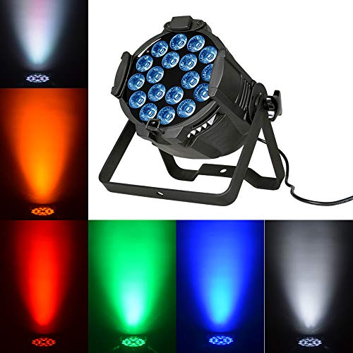 Boulder LED stage light Par Light 18x15W RGBWA 5in1 DMX512 supper bright good color mixing wash stage light for Party, Nightclub, Stage, Concert, Church, TV studio, Buildings, T-stage, Theater