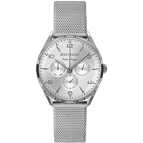 Boccadamo 1960 - Reloj solo tiempo para mujer, moderno, cód. WA010