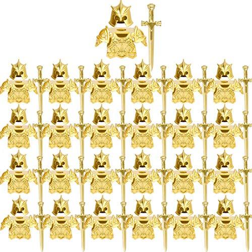 SENG Juego de 75 cascos de caballero, armas y armas personalizadas para minifiguras de policía SWAT Team de Lego.