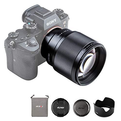 VILTROX 単焦点レンズ EF 85mm F1.8 STM 二代目 瞳AF対応 Sony Eマウント用 フルサイズ対応 Eマウント交換...