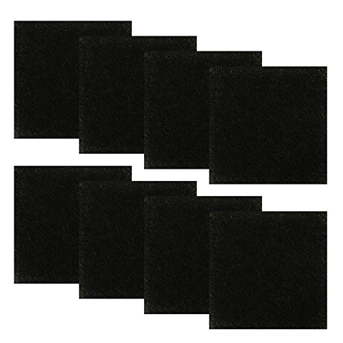 Great Price! Resinta 8 Pack Activated Carbon Compost Caddy Filters Kitchen Compost Collector Replace...