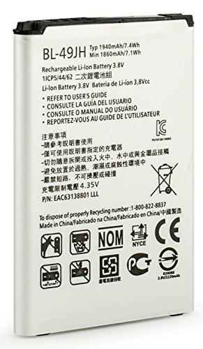 Bastex LG K4 1940 mAh Li-Ion Battery for The LG K4 K120 Spree K130 bl-49jh Spare Battery