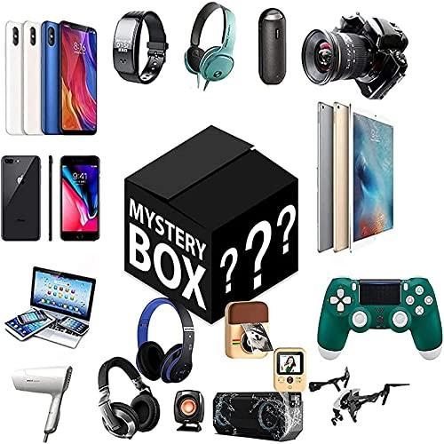 Mystery Lucky Box Cualquier Cacina Posible Missteries Cajas ElectróNico Productos Aleatorios A Los Productos De Abrir Pulantes De Los Relojes De Drumas Smart Welles Gampads Cameras Digitales Y MáS